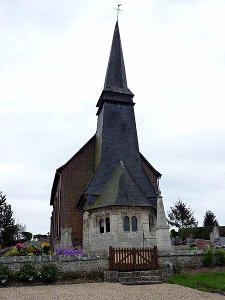 Photo du Monument Historique Eglise situé à Rebets