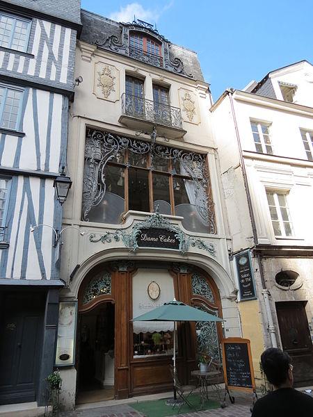 Photo du Monument Historique Atelier de Ferdinand Marrou situé à Rouen