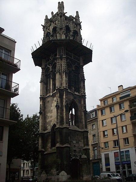 Photo du Monument Historique Ancienne église Saint-André situé à Rouen