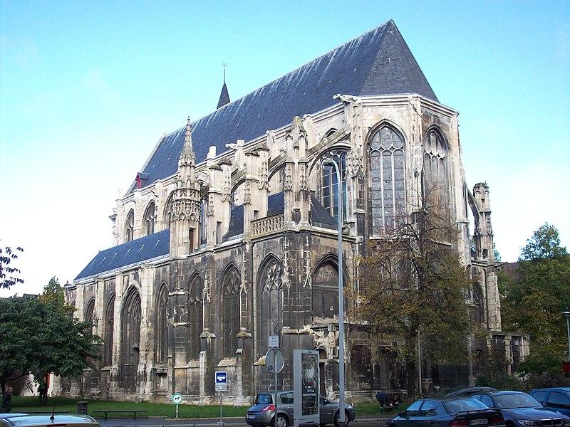 Photo du Monument Historique Ancienne église Saint-Eloi situé à Rouen