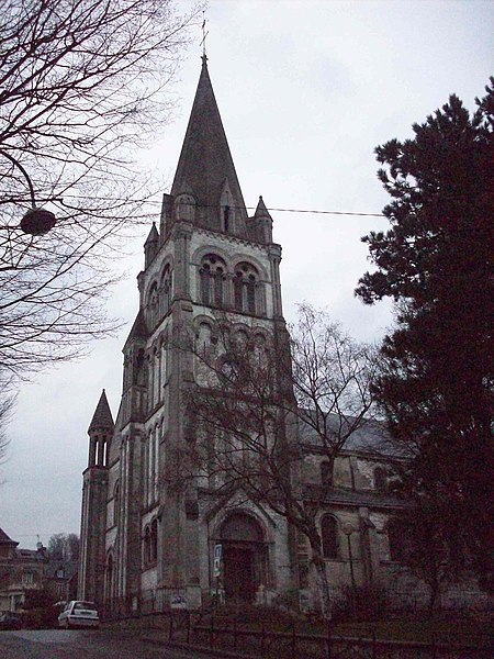 Photo du Monument Historique Eglise Saint-Gervais situé à Rouen