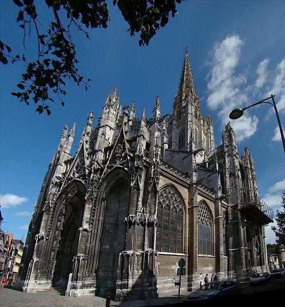 Photo du Monument Historique Eglise Saint-Maclou situé à Rouen