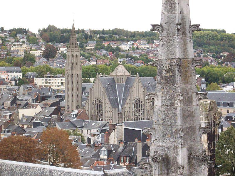 Photo du Monument Historique Eglise Saint-Nicaise situé à Rouen