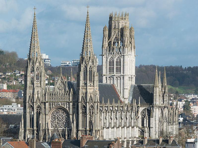 Photo du Monument Historique Eglise Saint-Ouen et Chambre des Clercs situé à Rouen