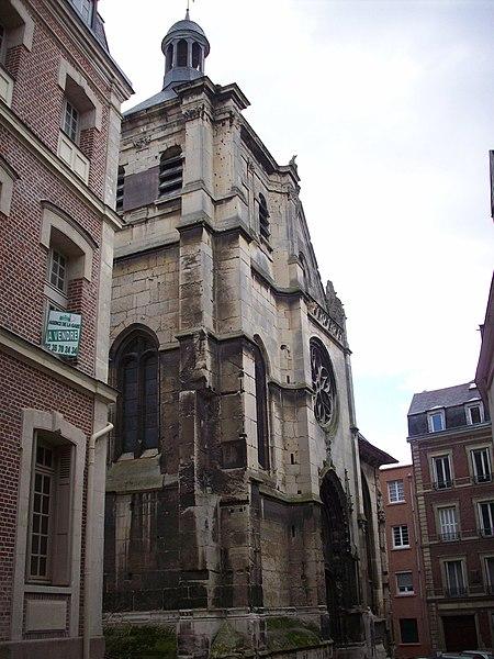 Photo du Monument Historique Eglise Saint-Patrice situé à Rouen