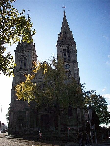 Photo du Monument Historique Ancienne église Saint-Paul situé à Rouen