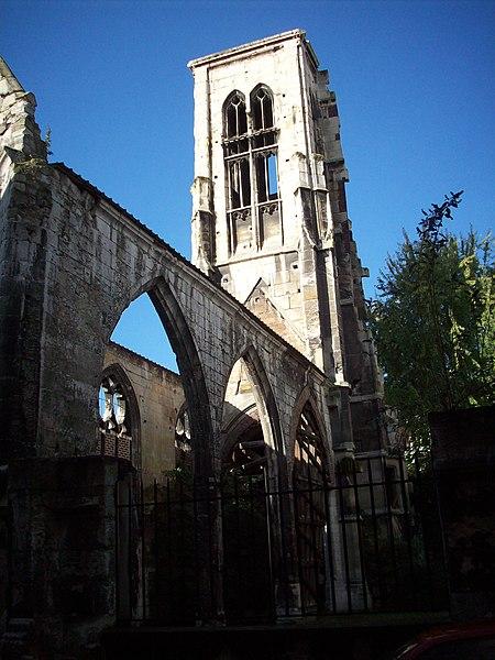 Photo du Monument Historique Ancienne église Saint-Pierre-du-Châtel situé à Rouen