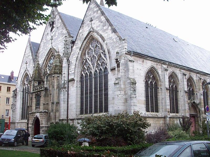 Photo du Monument Historique Eglise Saint-Vivien situé à Rouen