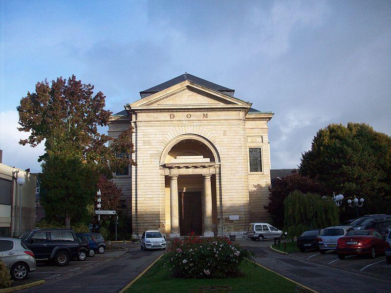 Photo du Monument Historique Hospice général situé à Rouen