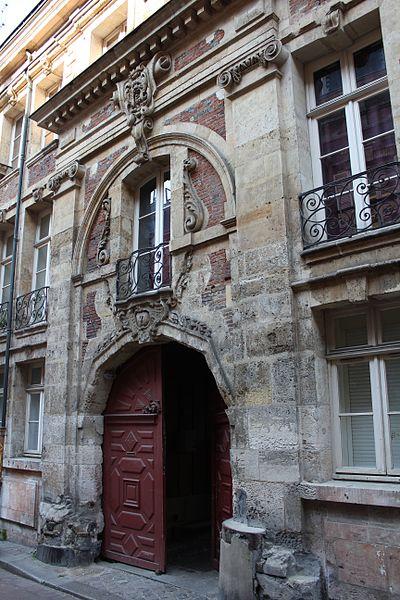 Photo du Monument Historique Ancien hôtel Bésuel situé à Rouen