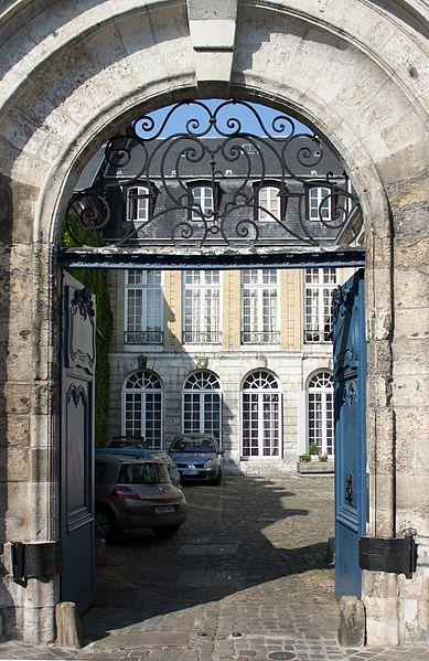 Photo du Monument Historique Hôtel Caillot de Coqueréaumont situé à Rouen