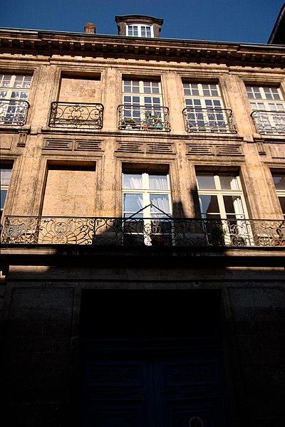 Photo du Monument Historique Hôtel de l'Etat-Major et du Conseil de Guerre situé à Rouen