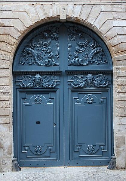 Photo du Monument Historique Hôtel de Franquetot situé à Rouen