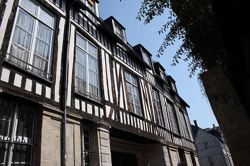 Photo du Monument Historique Ancien hôtel de la Houssaye situé à Rouen