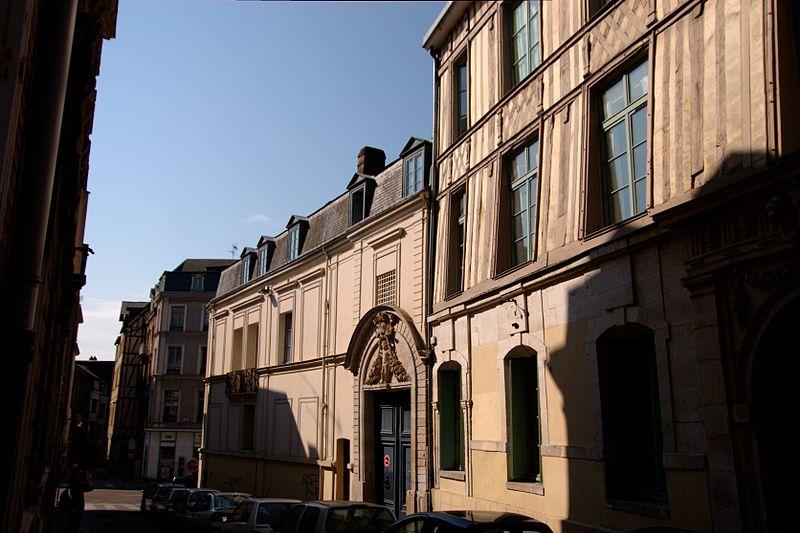 Photo du Monument Historique Hôtel de Sacy situé à Rouen