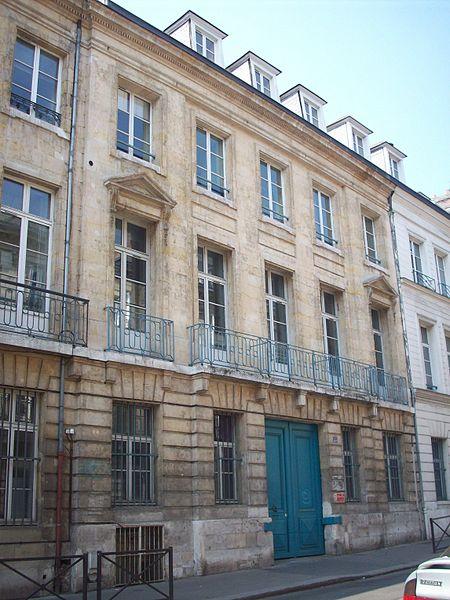 Photo du Monument Historique Hôtel situé à Rouen