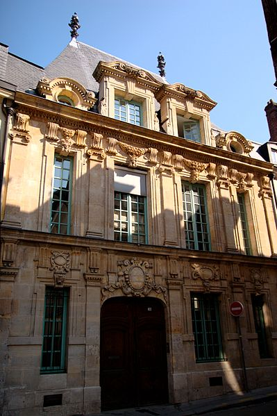 Photo du Monument Historique Ancien hôtel situé à Rouen