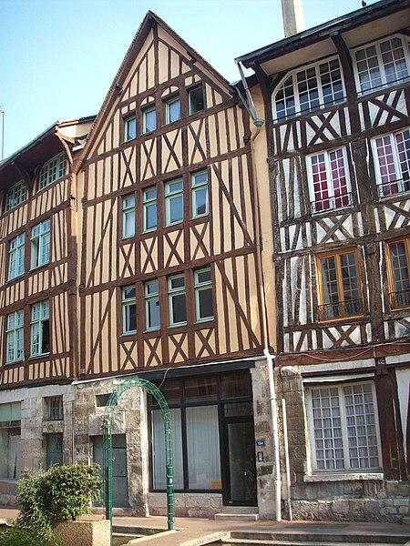 Photo du Monument Historique Maison de maître drapier-teinturier situé à Rouen