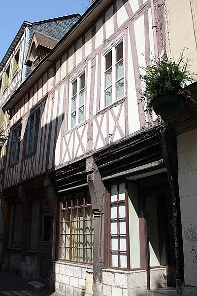 Photo du Monument Historique Immeuble situé à Rouen