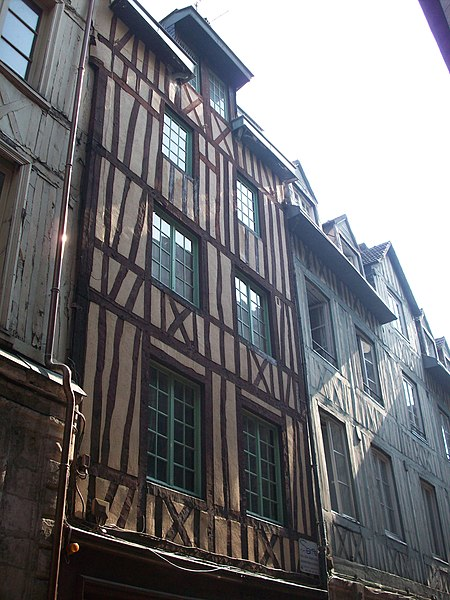 Photo du Monument Historique Immeubles situé à Rouen