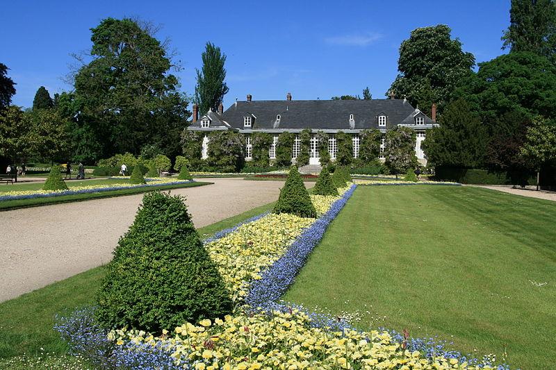 Photo du Monument Historique Jardin des Plantes situé à Rouen