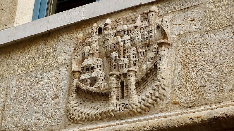 Photo du Monument Historique Maison, dite maison de Jérusalem situé à Rouen