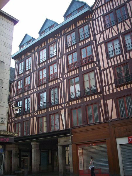 Photo du Monument Historique Maison situé à Rouen