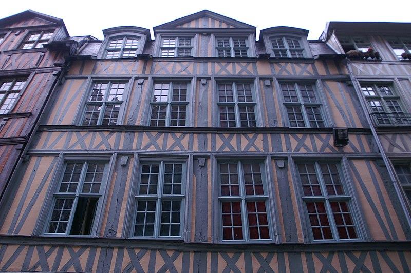 Photo du Monument Historique Maisons situé à Rouen