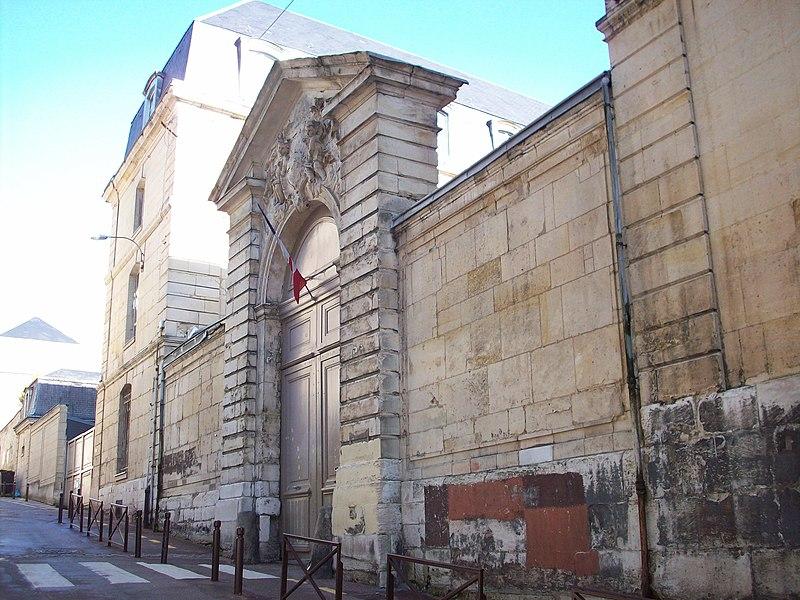 Photo du Monument Historique Ancien Grand Séminaire situé à Rouen