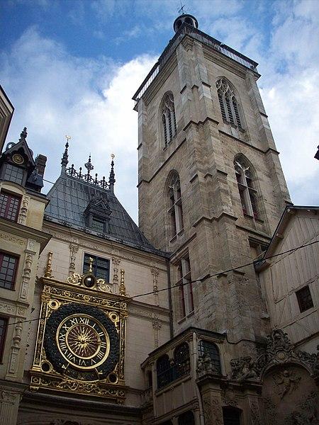 Photo du Monument Historique Tour du Beffroi situé à Rouen