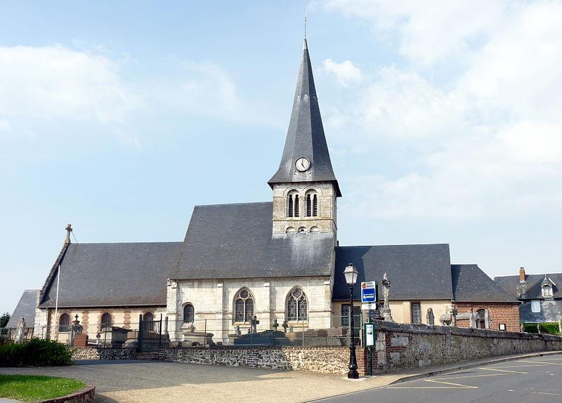 Photo du Monument Historique Eglise situé à Roumare
