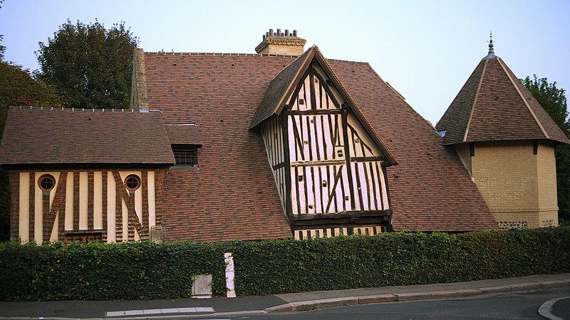 Photo du Monument Historique Manoir de Vitanval situé à Sainte-Adresse