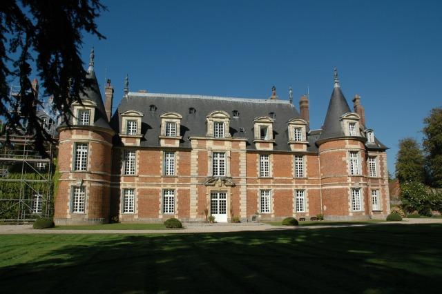 Photo du Monument Historique Château de Miromesnil (également sur commune de Tourville-sur-Arques) situé à Saint-Aubin-sur-Scie
