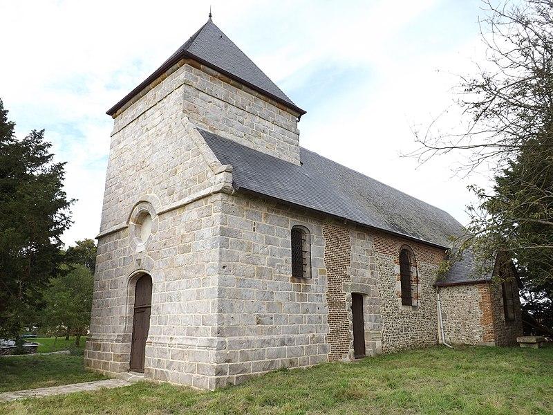 Photo du Monument Historique Chapelle de Flamanvillette situé à Sasseville