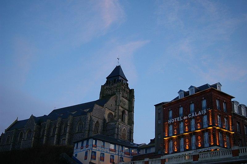 Photo du Monument Historique Eglise Saint-Jacques situé à Le Tréport