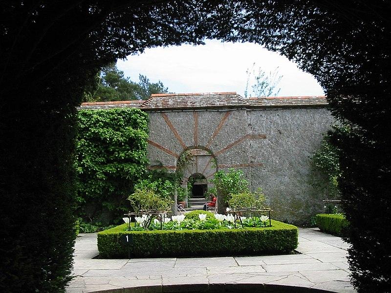 Photo du Monument Historique Parc botanique dit Parc des Moutiers situé à Varengeville-sur-Mer