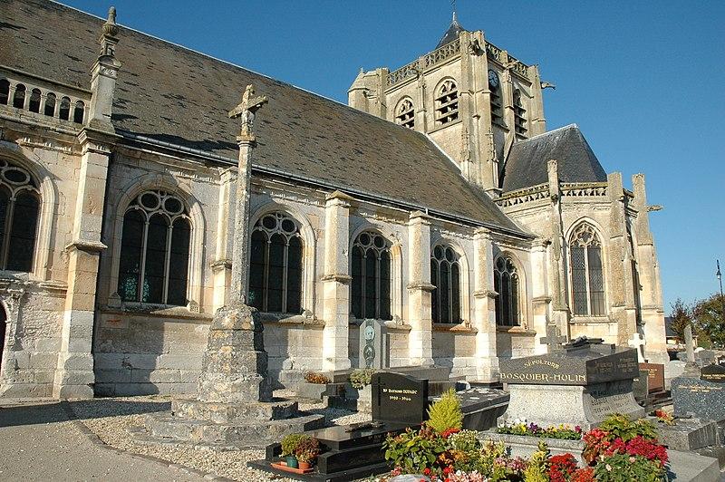 Photo du Monument Historique Eglise Saint-Martin situé à Vatteville-la-Rue