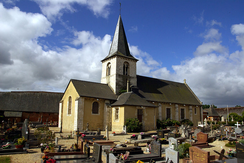 Photo du Monument Historique Eglise situé à La Vaupalière