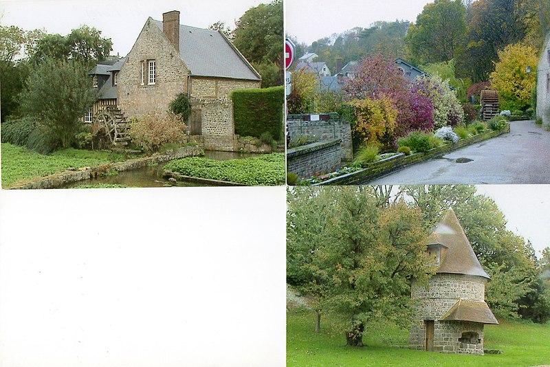 Photo du Monument Historique Ferme du Couvent situé à Veules-les-Roses