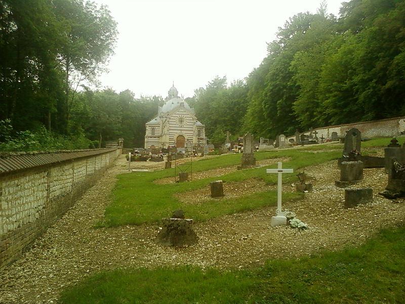 Photo du Monument Historique Ancienne chapelle funéraire situé à Le Héron