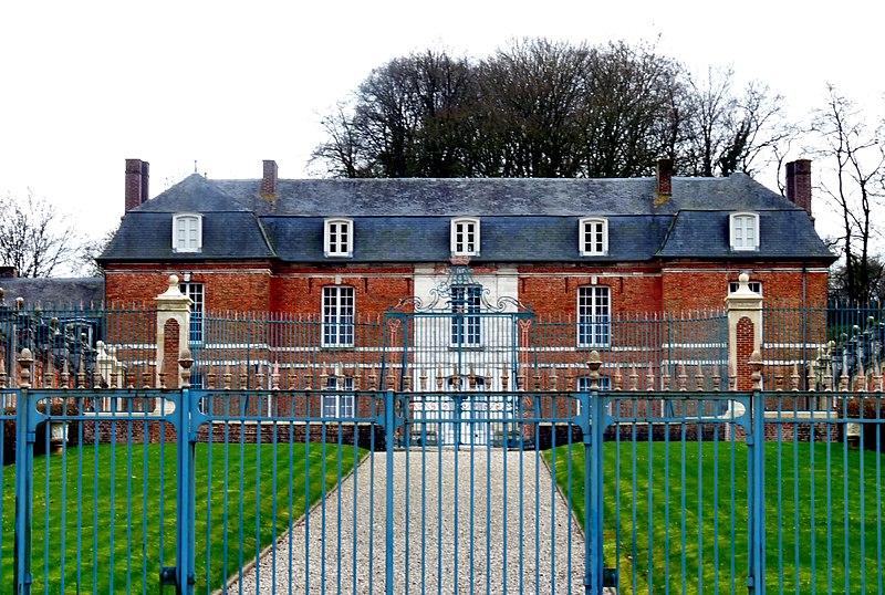 Photo du Monument Historique Château de Romesnil situé à Nesle-Normandeuse