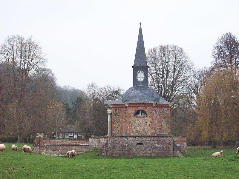 Photo du Monument Historique Chapelle funéraire Saint-Laurian situé à Saint-Denis-le-Thiboult