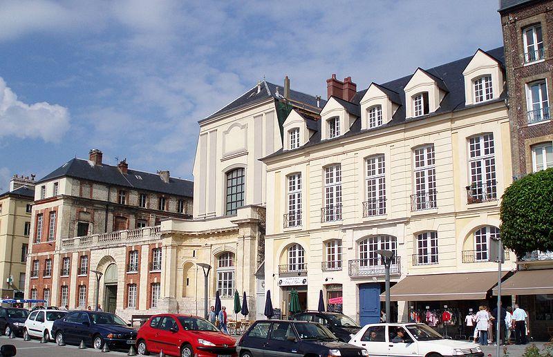 Photo du Monument Historique Ancien collège d'Oratoriens situé à Dieppe