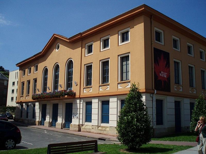 Photo du Monument Historique Théatre situé à Dieppe