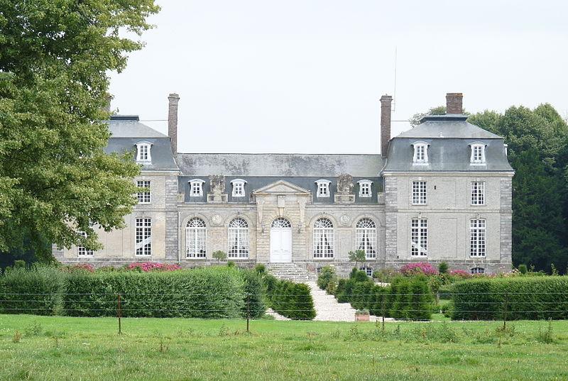 Photo du Monument Historique Château d'Anglesqueville-les-Murs situé à Saint-Sylvain