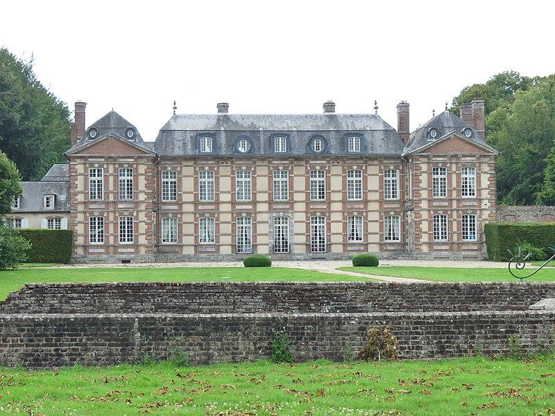Photo du Monument Historique Domaine de Bretteville situé à Bretteville-Saint-Laurent