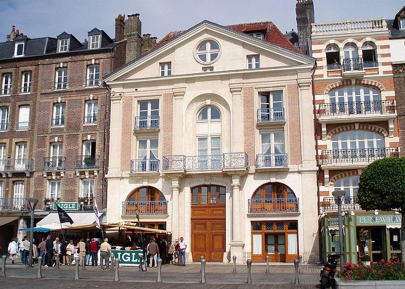 Photo du Monument Historique Hôtel d'Anvers situé à Dieppe