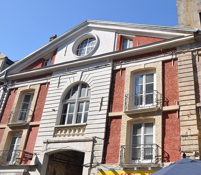 Photo du Monument Historique Hôtel situé à Dieppe