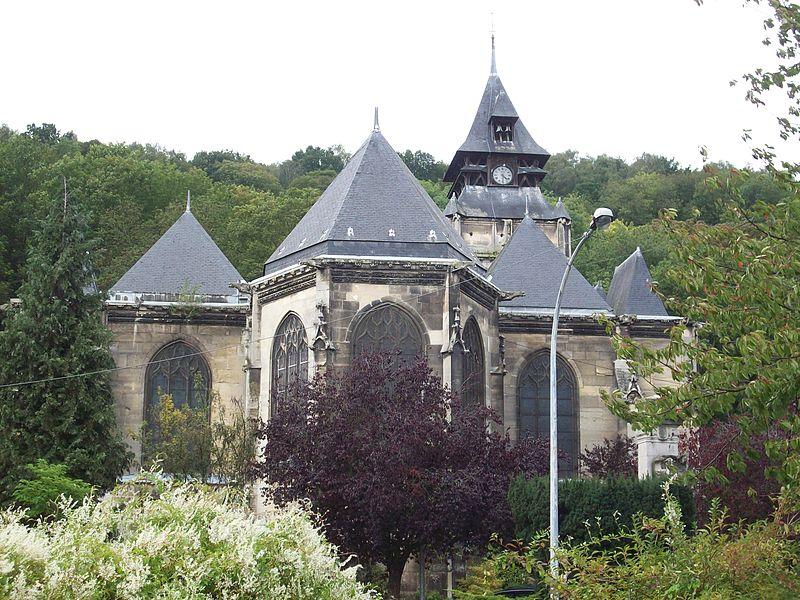 Photo du Monument Historique Eglise Saint-Ouen de Longpaon situé à Darnétal