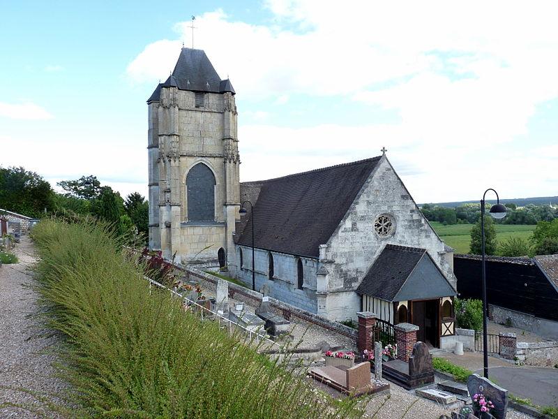 Photo du Monument Historique Eglise paroissiale Notre-Dame situé à Freneuse